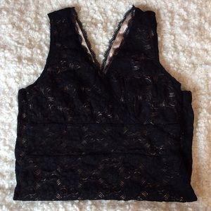 little black lace mini dress